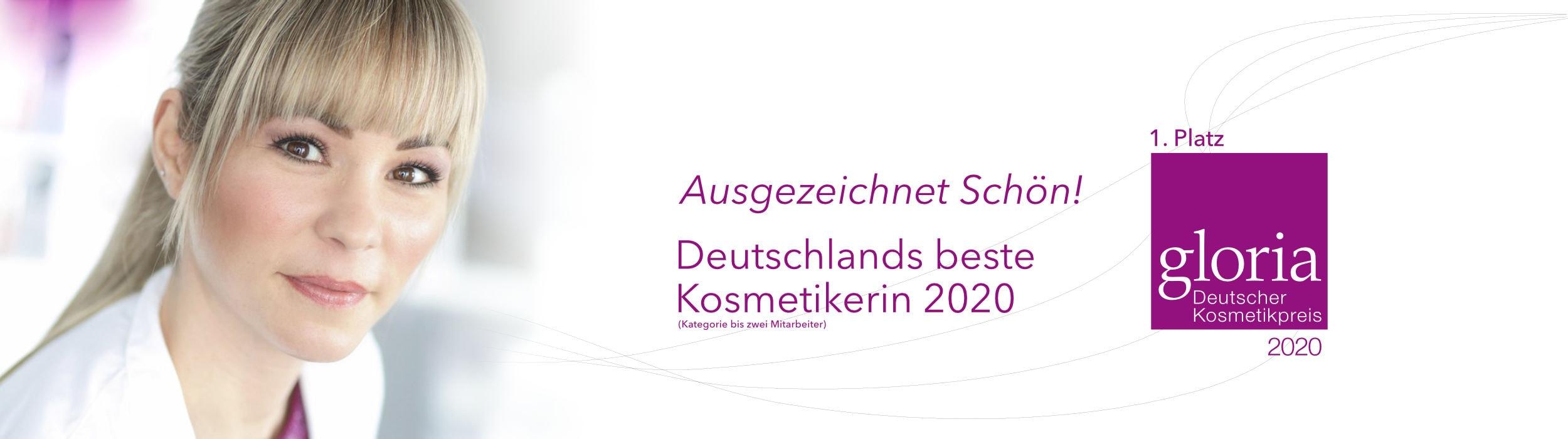Deutscher Kosmetikpreis für Klaudia Heidrich und ihr Kosmetikinstitut in Rheinbach