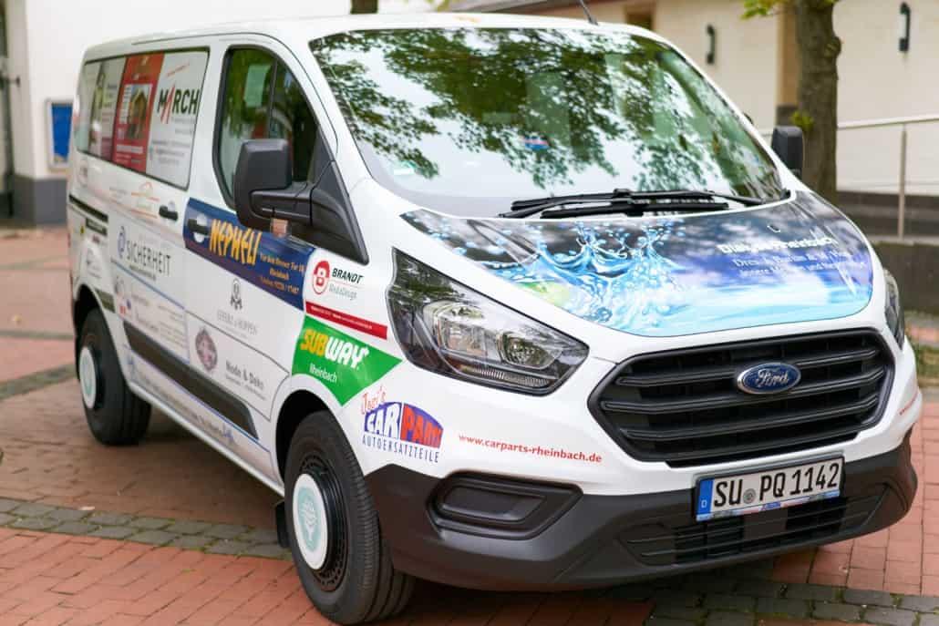 Klaudia Heidrich - Sponsoring LIVE Jugendzentrum in Rheinbach
